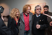 SUZANNE WYMAN; MICK HUCKNALL; BILL WYMAN; DALE MARSHALL, BILL WYMAN - REWORKED' , Photographs by Bill Wyman and reworks by Gerald Scarfe, Pam Glew, Dale Marshall, Penny and James Mylne, Rook & Raven Gallery: 7-8 Rathbone Place, London. 26 February 2013