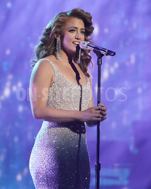 """AMERICAN IDOL – """"414 (Oscar Nominated Songs)"""" – The top 12 contestants perform Oscar®-nominated songs in hopes of securing America's vote into the top nine on an all-new episode of """"American Idol,"""" airing live coast-to-coast on SUNDAY, APRIL 18 (8:00-10:00 p.m. EDT), on ABC. (ABC/Eric McCandless)<br /> MADISON WATKINS"""