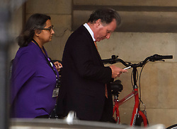 © Licensed to London News Pictures. 04/09/2019. London, UK. Conservative MP OLIVER LETWIN is seen at the Houses of Parliament in Westminster, London. British Prime Minister Boris Johnson has a called for a general election after losing his first commons vote and losing his majority, removing his control of parliament. Photo credit: Ben Cawthra/LNP