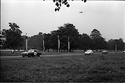 16/09/1967<br /> 09/16/1967<br /> 16 September 1967<br /> Phoenix Park Motor Racing, Kingsway Trophy Race, sponsored by Player and Wills (Ireland) Limited.  <br /> Image shows D.Wylie's M.G.B. (18), J. Mahon's A-H Sprite (17) and