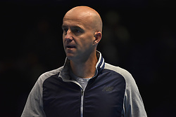 November 15, 2018 - London, England, United Kingdom - Ivan Ljubicic is pictured during Day Five of the Nitto ATP Finals at The O2 Arena on November 15, 2018 in London, England. (Credit Image: © Alberto Pezzali/NurPhoto via ZUMA Press)