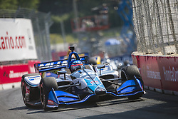 July 15, 2018 - Toronto, Ontario, Canada - TAKUMA SATO (30) of Japan battles for position during the Honda Indy Toronto at Streets of Toronto in Toronto, Ontario. (Credit Image: © Justin R. Noe Asp Inc/ASP via ZUMA Wire)