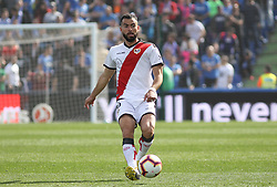 February 23, 2019 - Getafe, Madrid, Spain - Amat of Rayo Vallecano in action during La Liga Spanish championship, football match between Getafe and Rayo Vallecano, February 23th, in Coliseum Alfonso Perez in Getafe, Madrid, Spain. (Credit Image: © AFP7 via ZUMA Wire)