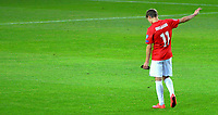 Fotball <br /> UEFA Euro 2016 Qualifying Competition<br /> 12.06.2015<br /> Norge v Aserbajdsjan / Norway v Aserbajdsjan<br /> Foto: Morten Olsen/Digitalsport<br /> <br /> Martin Ødegaard (11) - NOR