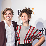NLD/Amsterdam/20171008 - Première Kleine IJstijd, Chris Peeters en partner Jada