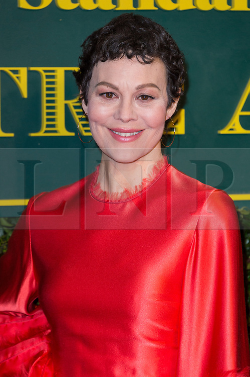 © Licensed to London News Pictures. 03/12/2017. London, UK. HELEN MCCRORY attends the London Evening Standard Theatre Awards 2017 held at the Theatre Royal, Dury Lane. Photo credit: Ray Tang/LNP