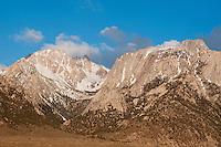 Eastern face of the Sierra Nevada, near Lone Pine, California