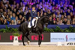 Minderhoud Hans Peter, NED, Glock's Dream Boy<br /> Jumping Amsterdam 2019<br /> © Hippo Foto - Dirk Caremans<br /> 26/01/2019