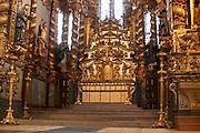sao francisco church altar porto portugal