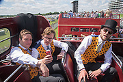 STAG PARTY FOR PETER, Investec Derby, Epsom. June 2 2018