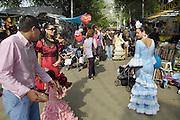 Spanje, Sanlucar, 7-5-2010Feria, kermis, met veel traditionele elementen.Foto: Flip Franssen/Hollandse Hoogte