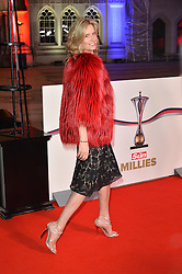 © Licensed to London News Pictures. 14/12/2016. PENNY LANCASTER attends The Sun newspaper Millies Military Awards 2016 at Guildhall <br />