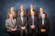 Corporate portrait including High West Energy Board Members in Pine Bluffs, Wyoming.