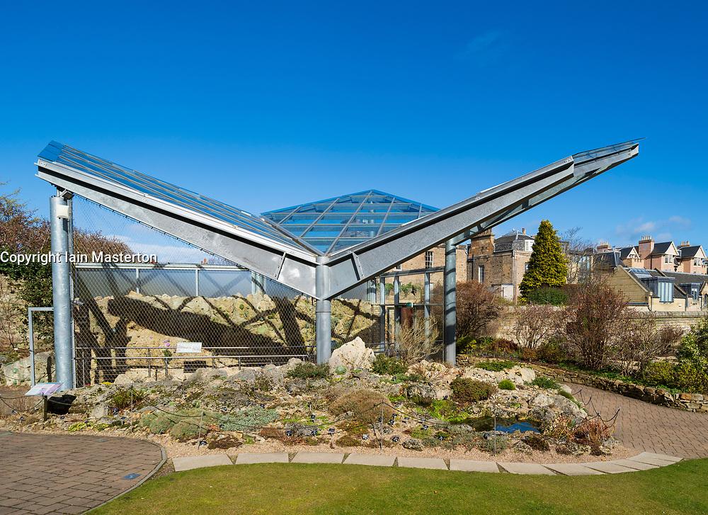 Alpine House at Royal Botanic Garden Edinburgh, Scotland, UK