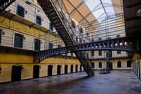 République d'Irlande, Dublin, Kilmainham Gaol, ancienne prison à Kilmainham, 14 nationalistes y furent éxécutés en 1916 // Republic of Ireland; Dublin, Kilmainham Gaol, former prison in Kilmainham