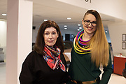 21/02/2018 REPRO FREE  The 2018 Irish Fashion Innovation Awards was launched at Monaghans & Sons Ltd showrooms.<br /> <br /> The 2018 Irish Fashion Innovation Awards take place on March 22nd at The Galmont Hotel & Spa, Galway<br /> At the stylish launch was attended by Designers Rita White from Dublin and Karolina Sexton. Photo:Andrew Downes, XPOSURE