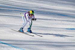 18.01.2013, Olympia delle Tofane, Cortina d Ampezzo, ITA, FIS Weltcup Ski Alpin, Abfahrt, Damen, 1. Training, im BildElena Fanchini (ITA) // Elena Fanchini of Italy in action during 1st practice of the ladies Downhill of the FIS Ski Alpine World Cup at the Olympia delle Tofane course, Cortina d Ampezzo, Italy on 2013/01/18. EXPA Pictures © 2013, PhotoCredit: EXPA/ Johann Groder
