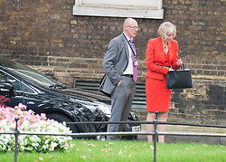 © Licensed to London News Pictures. 03/09/2014. London, UK Home Secretary Theresa May at Downing Street for the COBRA meeting on 3rd September 2014. Photo credit : Stephen Simpson/LNP