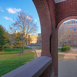 On campus at the University of New Hampshire in Durham.
