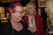 JO BRAND, SALLY GREENE, Preview evening  in support of The Eve Appeal, a charity dedicated to protecting women from gynaecological cancers. Bonhams Knightsbridge, Montpelier St. London. 29 April 2019