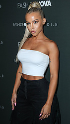 HOLLYWOOD, LOS ANGELES, CA, USA - NOVEMBER 14: Fashion Nova x Cardi B Collaboration Launch Event held at Boulevard3 on November 14, 2018 in Hollywood, Los Angeles, California, United States. 14 Nov 2018 Pictured: Tammy Hembrow. Photo credit: Xavier Collin/Image Press Agency/MEGA TheMegaAgency.com +1 888 505 6342