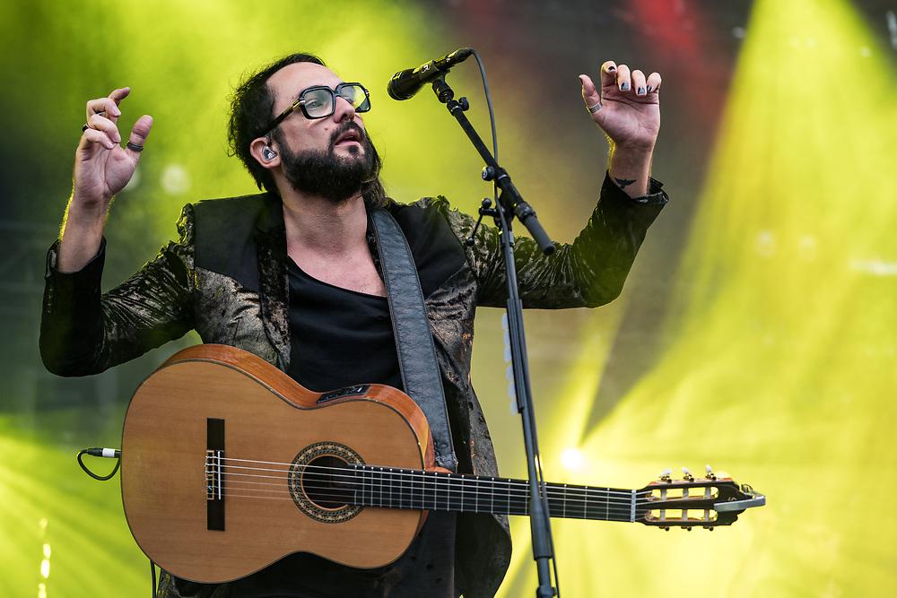 Dutch singer-songwriter Blaudzun at Haldern Pop Festival