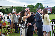 JONATHAN WEINBERG; JESSICA HYDLEMAN, Cartier Queen's Cup final at Guards Polo Club, Windsor Great Park. 16 June 2013