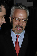 Alan Hollinghurst, The 7th GQ Man of the Year Awards, Royal Opera House. 7 September 2004. In association with Armani Mania. SUPPLIED FOR ONE-TIME USE ONLY-DO NOT ARCHIVE. © Copyright Photograph by Dafydd Jones 66 Stockwell Park Rd. London SW9 0DA Tel 020 7733 0108 www.dafjones.com