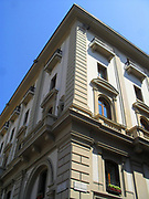 Architectural street detail from Florence, Italy.