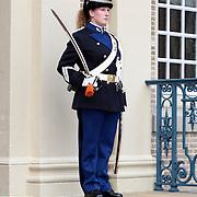 NLD/Apeldoorn/20070901 - Viering 40ste verjaardag Prins Willem Alexander, erewacht koninklijke Mareschaussee