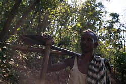 "EXCLUSIVE: By Sanjay Pandey in India A 50-year-old Indian man has singlehandedly scraped though hills for a period of two years to make an 8km stretch of road to ensure that he and wife can meet their school-going children more often. Jalandhar Nayak, a small-time farmer from Kandhamal district of east Indian state of Odisha, constructed the first stretch of the road all by himself with just a pick axe and crowbar by working from dawn to dusk since 2016. So how did he stumbled up on the idea? ""At the time of birth of our first child, my wife was home. When she went into labour pain, I tried to take her to the nearby health centre. But we couldn't reach there in time and she had to deliver the baby on the way. It was then the idea of building a road struck me first. I thought to myself, if having no roads in the village is causing us so much of problem to us, it would cause the problem to our children, too,"" said Nayak, explaining how he stumbled upon the idea of contracting road."" According to the Nayaks, the government has been giving assurance of building a road for decades in the area, but they never moved anything on the ground. Jalandhar's father father who is 80 now, tells about the same hollow assurances that he got from the administration in his youth.   ""When my children grew up and started going to school, it would take them three hours one way to go the school trekking though the mountainous terrain. Since they cannot commute to and from the school everyday, we had to get them enrolled in a residential school, a 15km away from home.   Nayak's children spend six days in the school and return home on seventh day. But trekking though five hills is not a child play, the journey used to make them tired and exhausted. ""This made me more determined to tear though the mighty mountains to pave way for my children. I didn't want my children to meet the same fate as mine. Hence, I decided to go ahead with the plan of road construction -- with or withou"