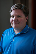 Infosec CEO Jack Koziol poses for a portrait at their office in Madison, WI on Friday, May 17, 2019.