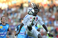 FOOTBALL - FRENCH CHAMPIONSHIP 2010/2011 - L1 - OLYMPIQUE LYONNAIS v STADE BRESTOIS - 21/08/2010 - PHOTO ERIC BRETAGNON / DPPI - BAFETIMBI GOMIS (LYON)
