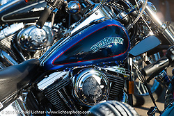 Steamboat Springs downtown street party and bike show during the Rocky Mountain Regional HOG Rally, Colorado, USA. Friday June 9, 2017. Photography ©2017 Michael Lichter.