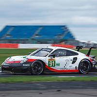 #91, Porsche Motorsport, Porsche 911 RSR, LMGTE Pro, driven by: Richard Lietz, Gianmaria Bruni at FIA WEC Silverstone 6h, 2018 on 19.08.2018