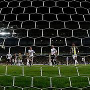Fenerbahce's goalkeeper Volkan Demirel during their Turkish Superleague soccer derby match Fenerbahce between Besiktas at Sukru Saracaoglu stadium in Istanbul Turkey on Sunday 07 October 2012. Photo by TURKPIX