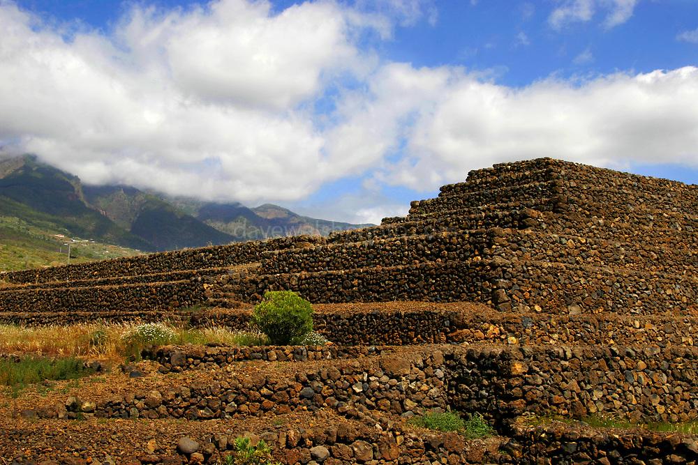 Pyramid #1 &2 at the Pyramids of Güímar, Tenerife, Canary Islands, Spain