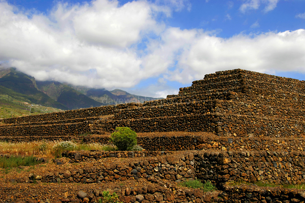Pyramid #1 &2 at the Pyramids of Güímar, Tenerife, Canary Islands, Spain