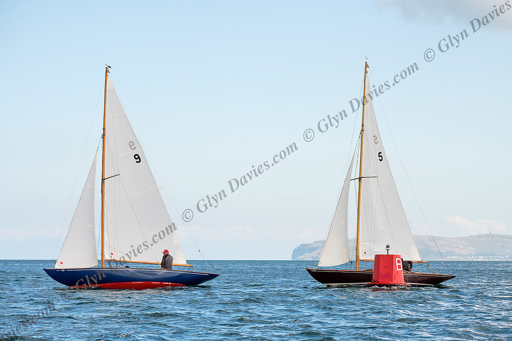 Last day of Menai Strait regatta 2017. Beaumaris courses. These images were taken whilst being filmed for the new ITV Wales series, 'The Strait' to be broadcast in January 2018.<br /> <br /> Slam Media / Cread Cyf production for ITV Wales 2017