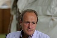 British television personality Peter Bazalgette is pictured at the Edinburgh International Book Festival prior to talking about his work creating Big Brother, Changing Rooms and other massive TV hits. The Edinburgh International Book Festival is the world's largest literary event, with over 500 authors from across the world participating each year and ran from 13-29 August. Edinburgh was named the world's first UNESCO City of Literature in 2004.