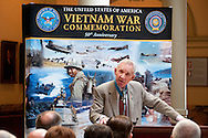 Vietnam Veterans Day in Georgia - A tribute to Georgia Vietnam Medal of Honor Recipients, Atlanta, Georgia - James E Livingston Marine Major General, Retired, and Medal of Honor Recipient of ther Vietnam War