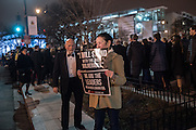 GABRIELLE HENKEL, SOLE DEMONSTRATOR FOR QUITE A WHILE, FREEDOM BALL, ,  Inauguration of Donald Trump ,  Washington DC. 20  January 2017