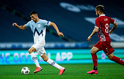 Haris Vuckic of Slovenia during the UEFA Nations League C Group 3 match between Slovenia and Moldova at Stadion Stozice, on September 6th, 2020. Photo by Vid Ponikvar / Sportida