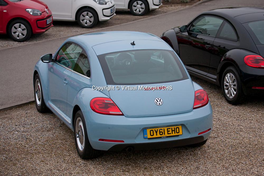 VW Beetle at Danesfield House, Buckinghamshire, UK 2012
