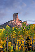 The Chimney and <br />Afternoon Light, Owl Creek Pass, <br />Uncompaghre National Forest, Colorado