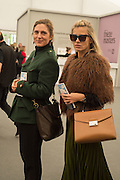 COSIMA SPENDER; LAURA BAILEY, Opening of Frieze Masters, Regents Park, London 12 October 2015
