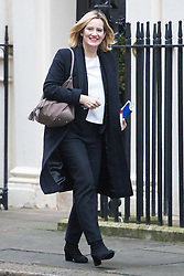 Downing Street, London, December 13th 2016. Home Secretary Amber Rudd arrives at the weekly meeting of the cabinet at Downing Street, London.