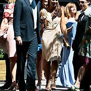 NLD/Amsterdam/20100603 - Huwelijk voetbaltrainer Frank Rijkaard en voormalig kindermeisje Stefanie Rucker, dochter Lindsay