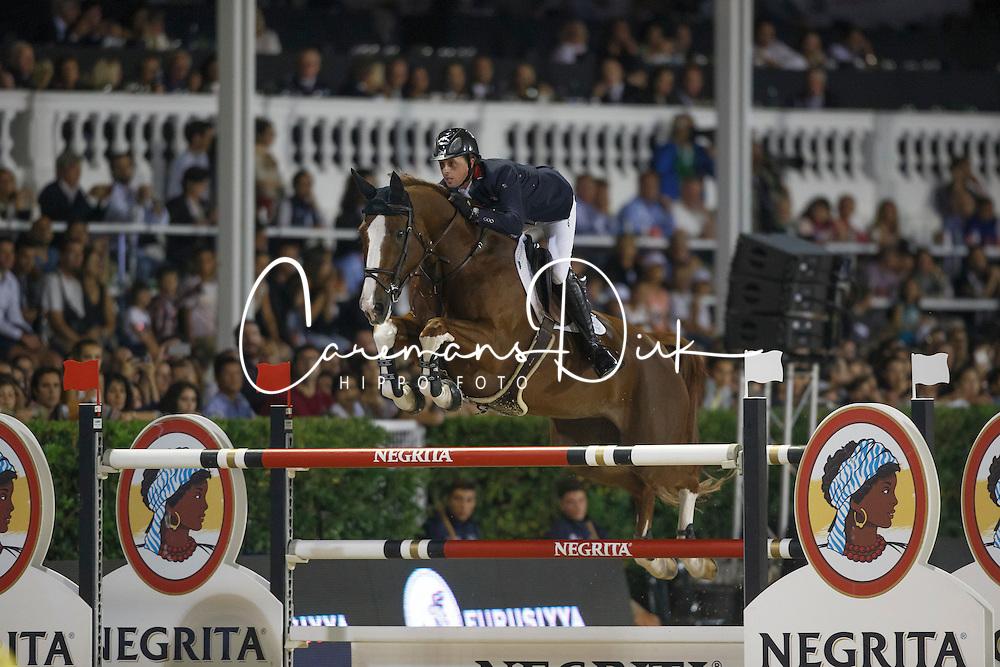 Maher Ben, (GBR), Diva II<br /> Final<br /> Furusiyya FEI Nations Cup Jumping Final - Barcelona 2015<br /> © Dirk Caremans<br /> 26/09/15