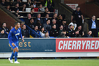 Football - 2019 / 2020 pre-season friendly - AFC Wimbledon vs. Crystal Palace<br /> <br /> Crystal Palace manager Roy Hodgson and assistant manager Ray Lewington look on, at Kingsmeadow Stadium.<br /> <br /> COLORSPORT/ASHLEY WESTERN